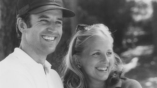 妻・ジルとバイデン