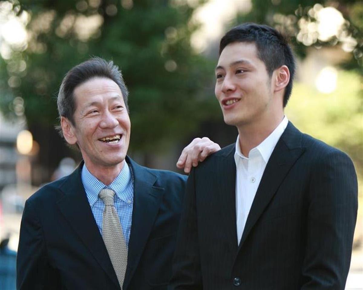 2009年・斎藤洋介と息子の斉藤悠