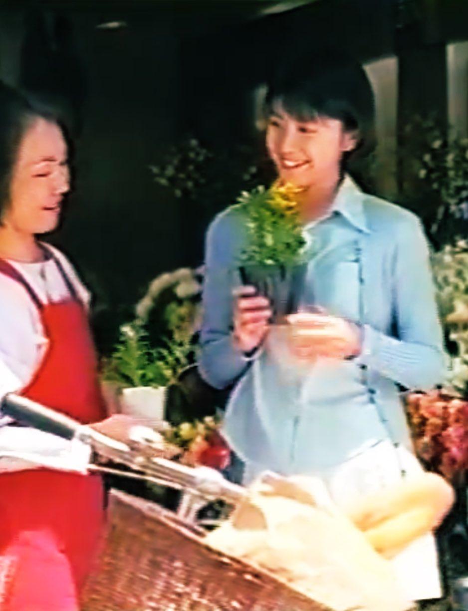 大蔵省のCMに出演した竹内結子