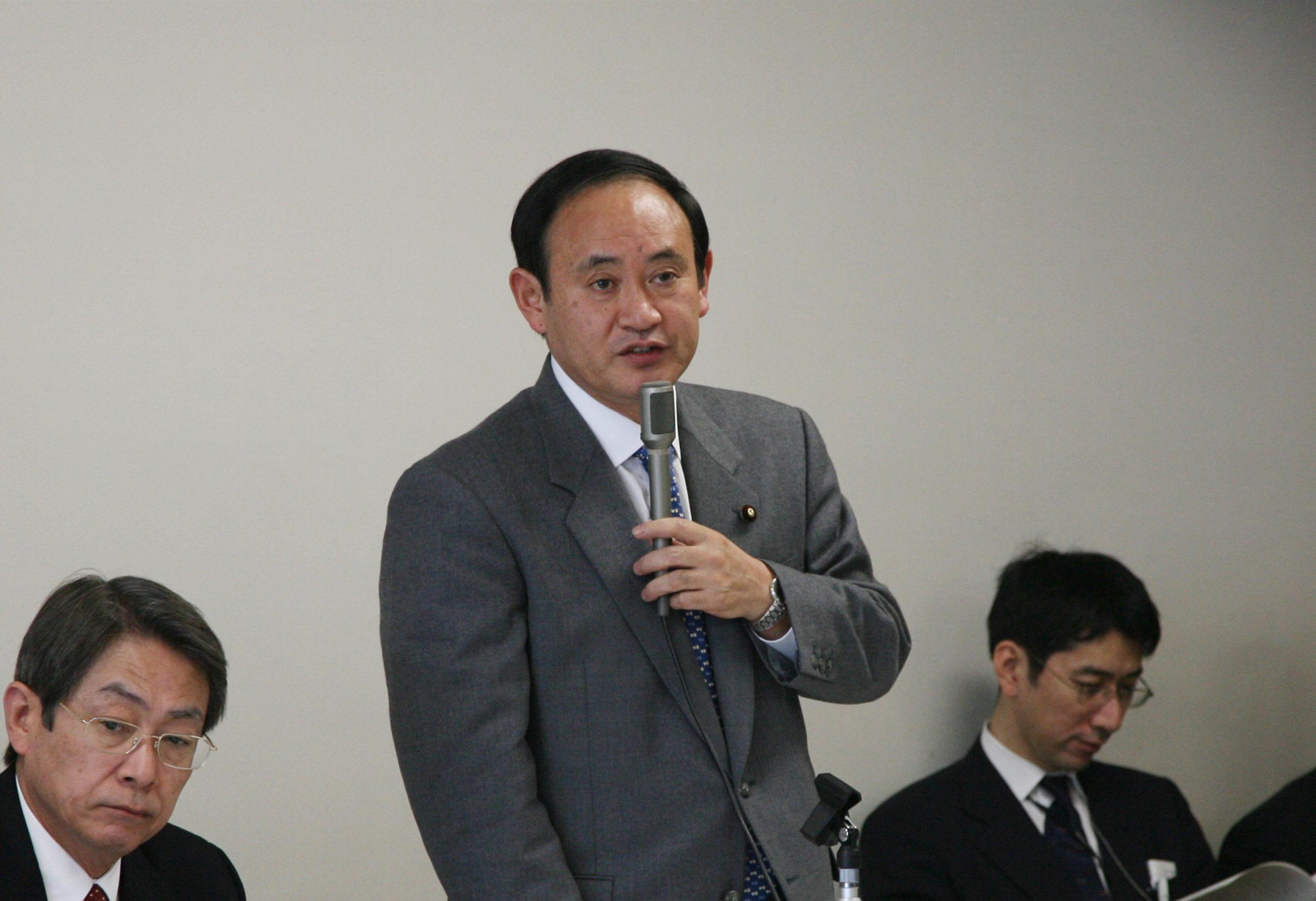 2006年の菅義偉