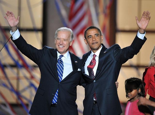 バイデン副大統領とオバマ大統領