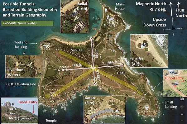 リトル・セント・ジェームズ島(通称:エプスタイン島)