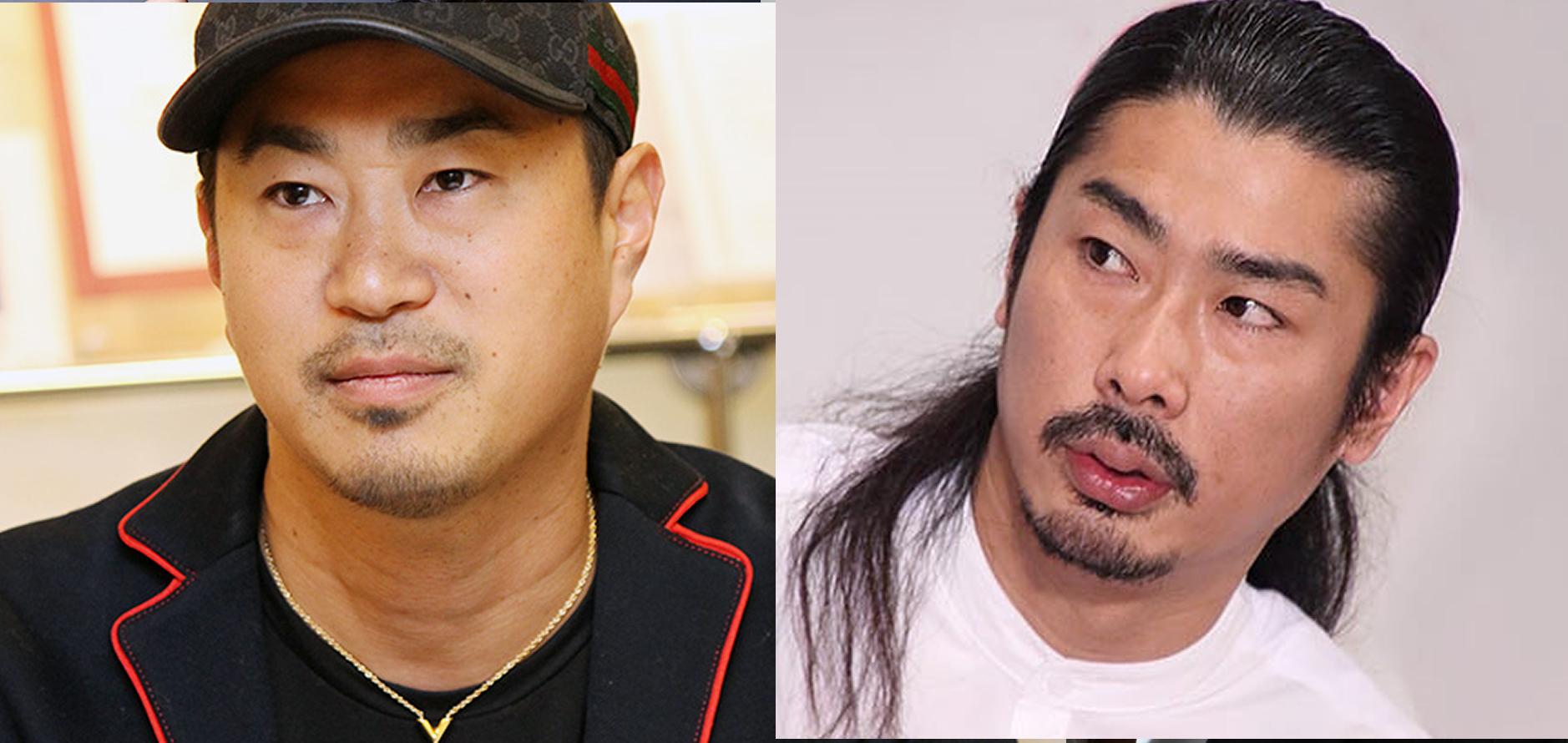 左・麻生裕久 右・パンサーの菅良太郎