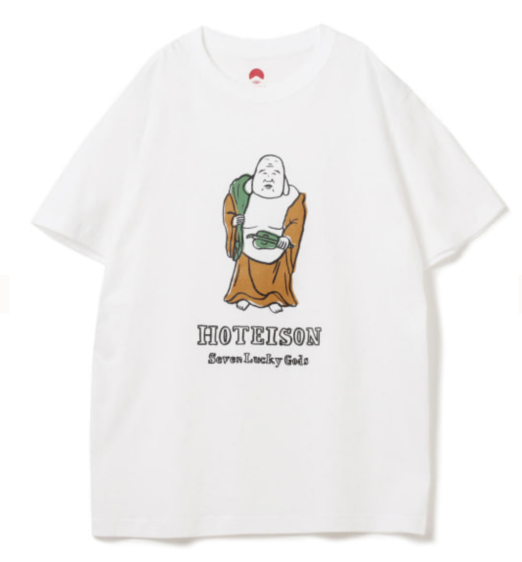 HOTEISONのTシャツ
