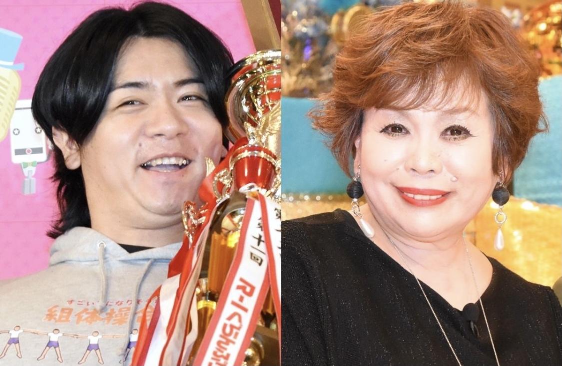 左・マヂカルラブリー野田クリスタル 右・上沼恵美子