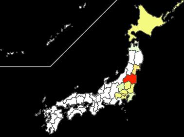 箭内姓は福島県が多い