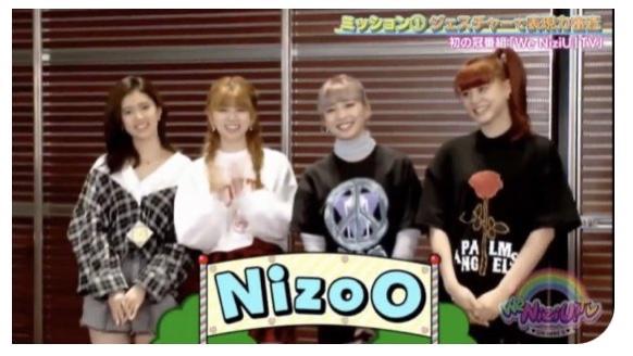 we nizi U TV内でのチーム名が「NIZOO」