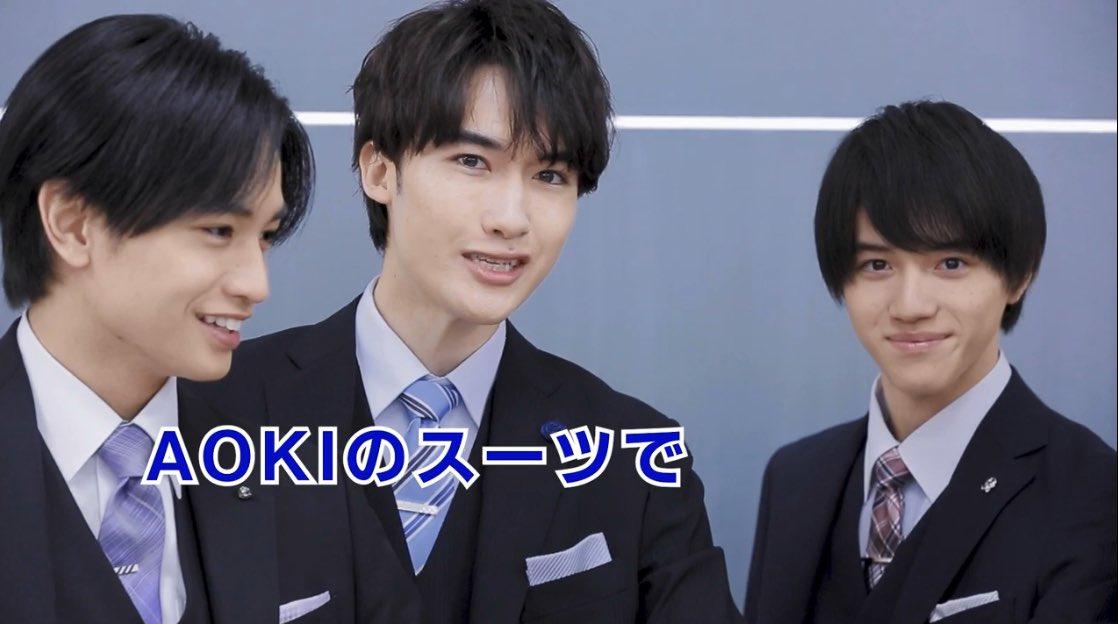 左・中島健人 中央・マリウス葉 右・岩崎大昇