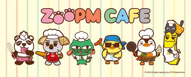 """2PMの""""ZOOPM"""""""