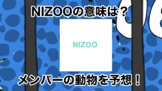 NIZOOとは何?メンバーの動物を予想!JYP第1本部の意味も説明!