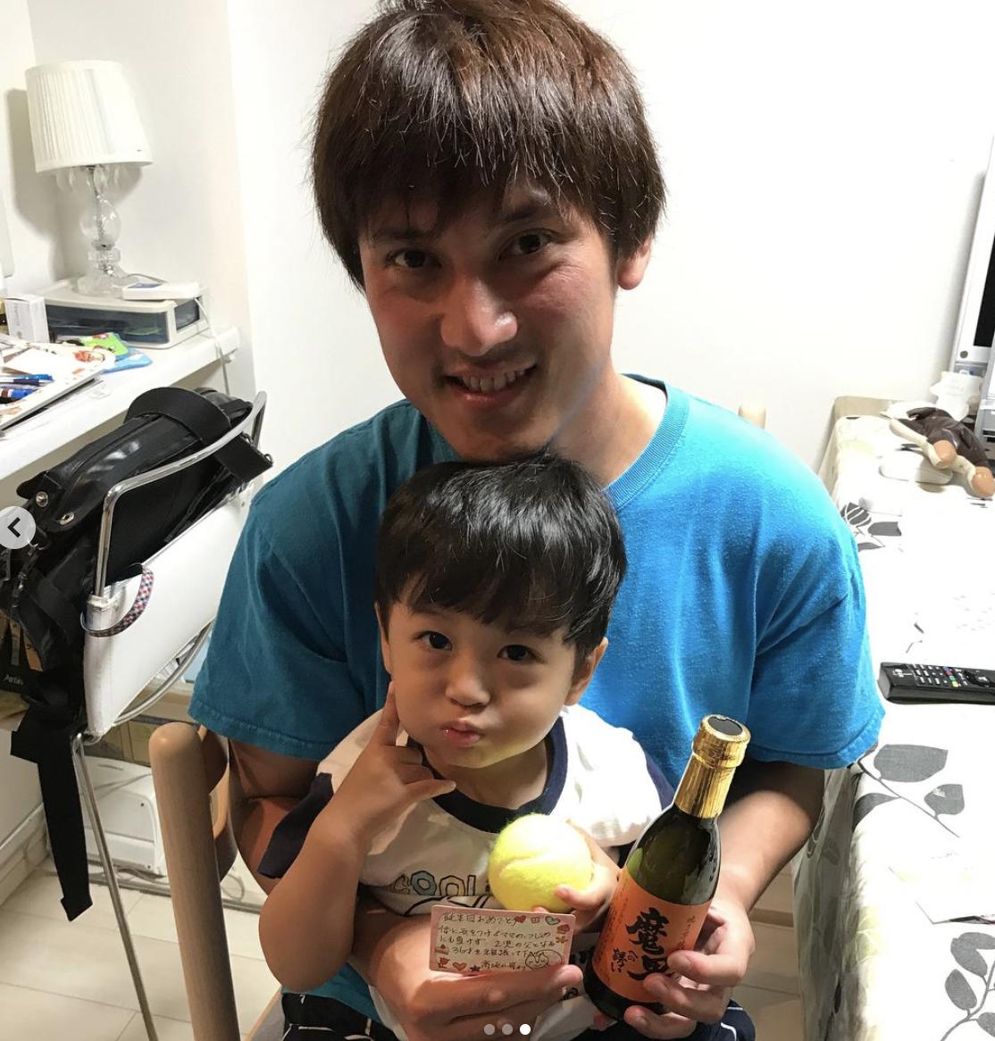 石川裕梨の夫(石川裕梨Instagramより)
