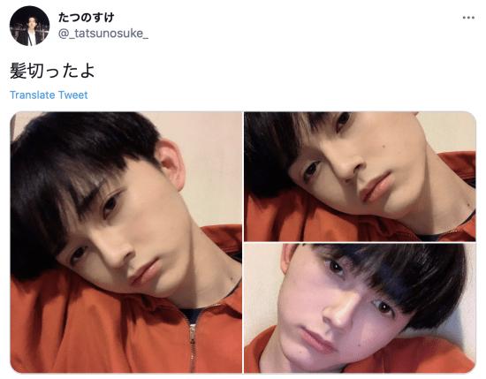 吉沢亮の弟は「たつのすけ」?
