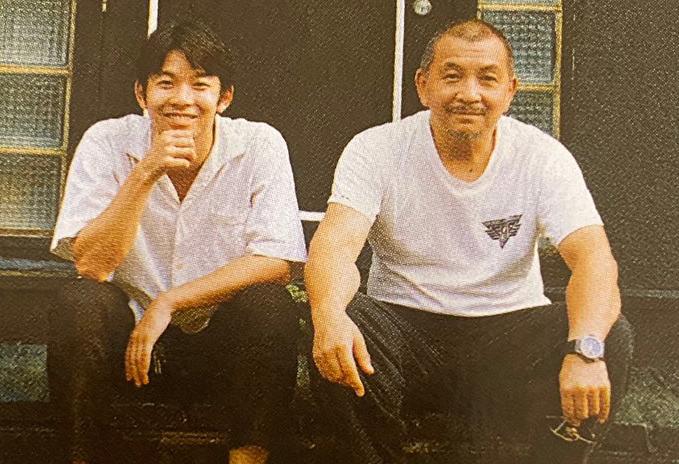 左:仲野太賀 右:中野英雄