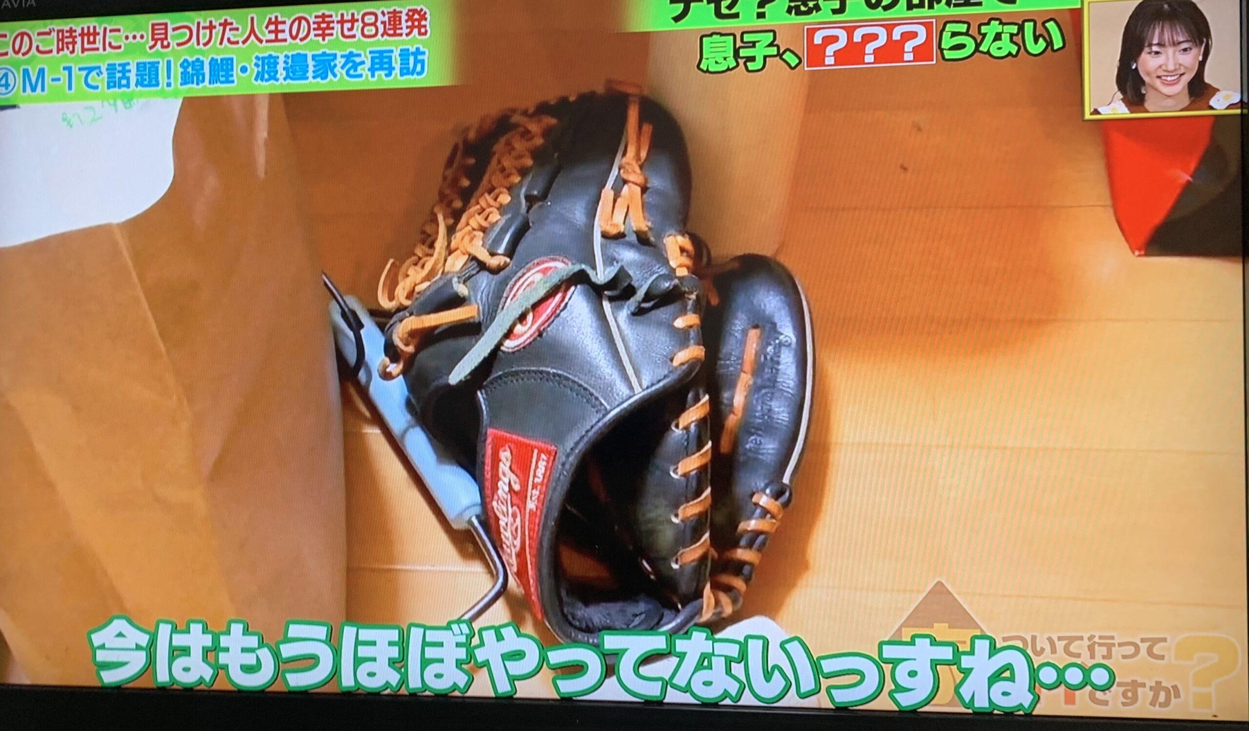 錦鯉。渡辺隆は野球少年だった