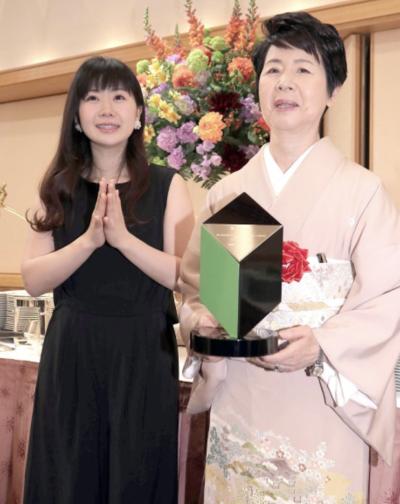 「未来のいしずえ賞」を受賞した福原愛の母親・千代