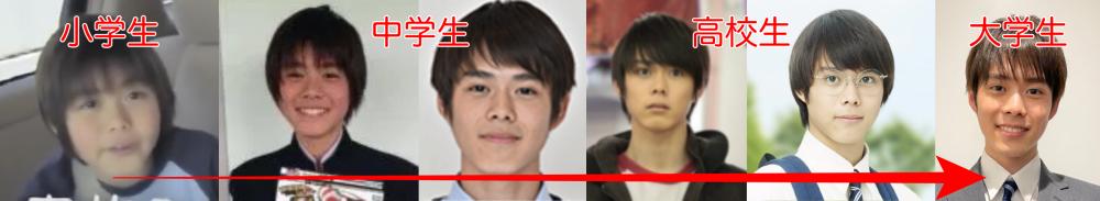 細田佳央太の子役時代から顔が変わった?