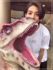 ラウールは恐竜好き