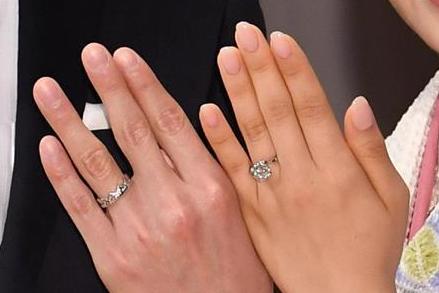 福原愛と旦那・江宏傑の婚約指輪