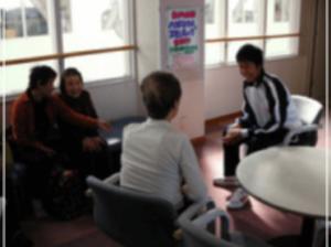 職業訓練に来た「浜松開誠館中学校」の生徒名に「横原悠毅」