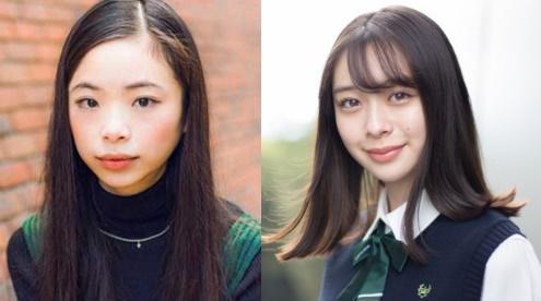 左:趣里 右: 田鍋梨々花