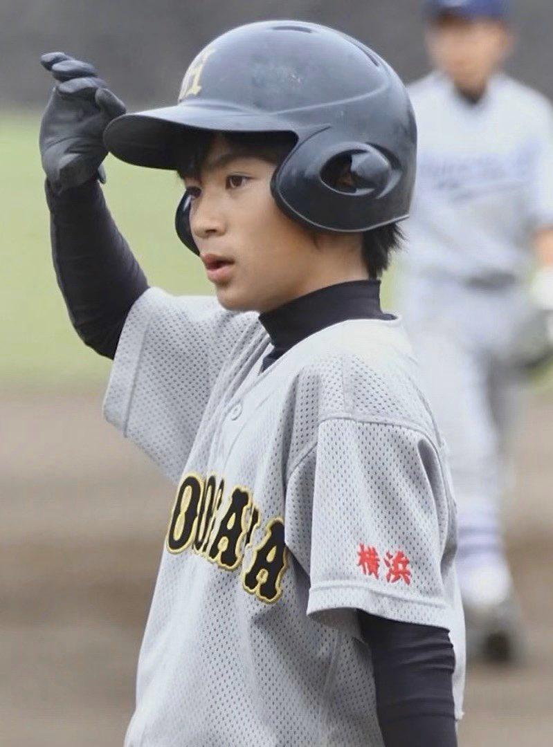 野球をしていた髙橋優斗