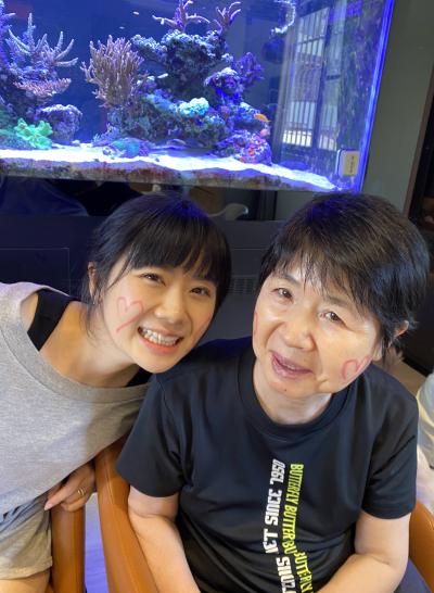 2020年7月 福原愛と母親