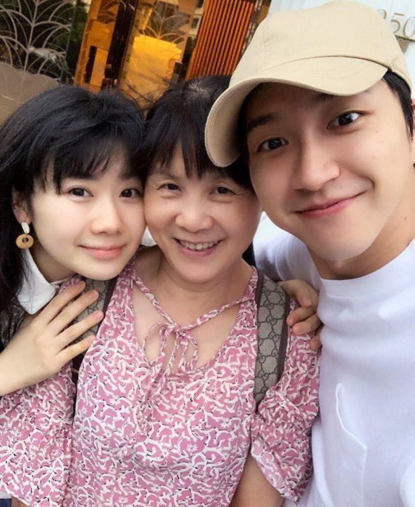 福原愛と夫・江宏傑と義母