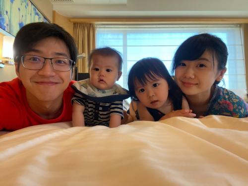 福原愛と子供、夫の江宏傑