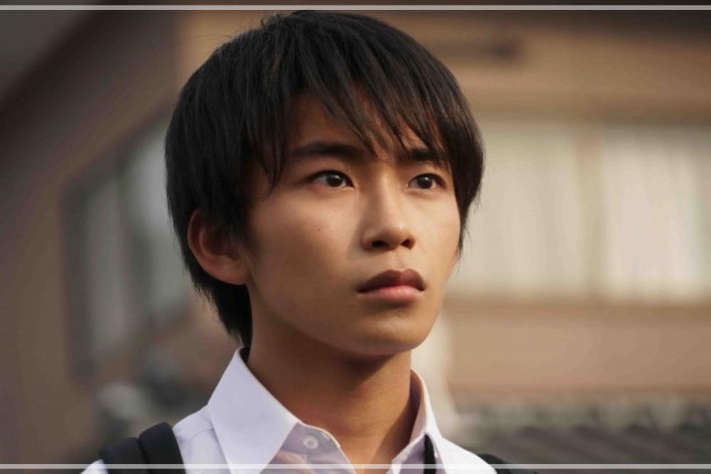加藤清史郎の頬が黒い