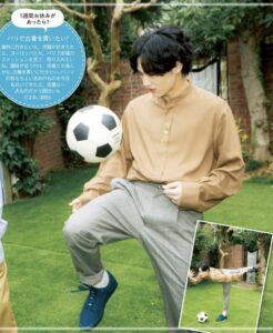 松田元太はサッカー好き!父親の影響
