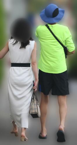 永山瑛太と一般女性の不倫現場
