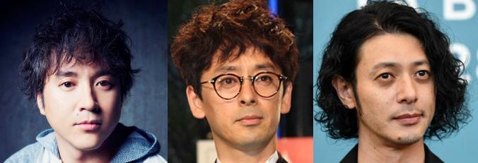 ムロツヨシさん、滝藤賢一さん、オダギリジョー