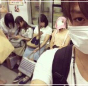 松田元太 乃木坂(星野みなみ・北野日奈子・堀末央奈)を盗撮