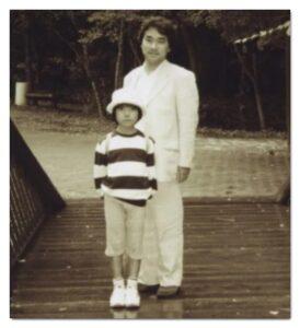 小室圭さんと父親の敏勝さん