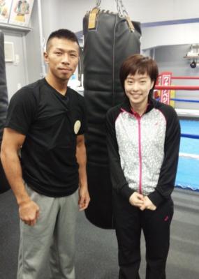 石川佳純選手と内山高志さんは親交があった