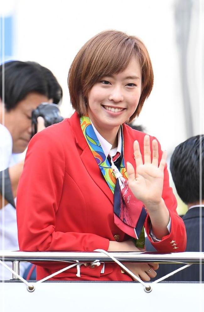 石川佳純 2016 リオオリンピック 茶髪 可愛くなった