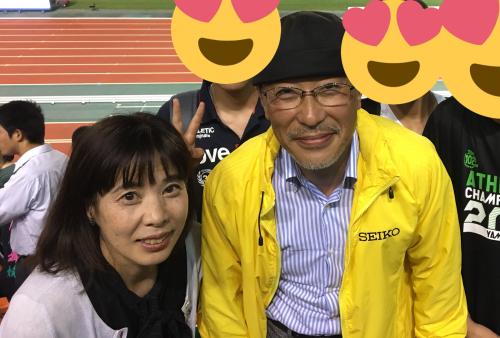 山縣亮太の母親と父親(Twitterより引用)