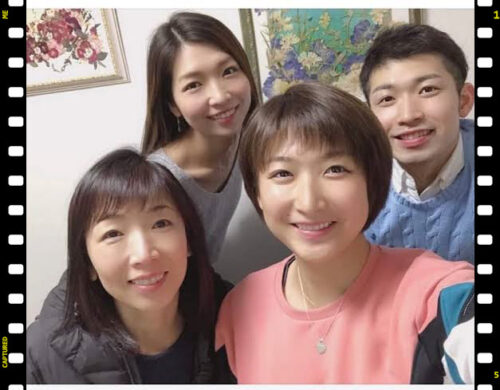 池江璃花子 母親 母子家庭 家族写真