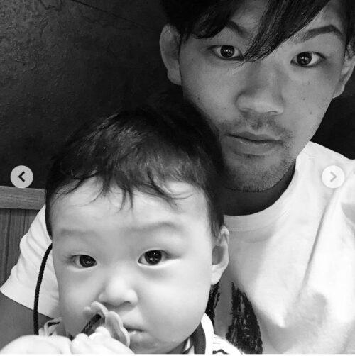 大野将平 甥っ子 画像